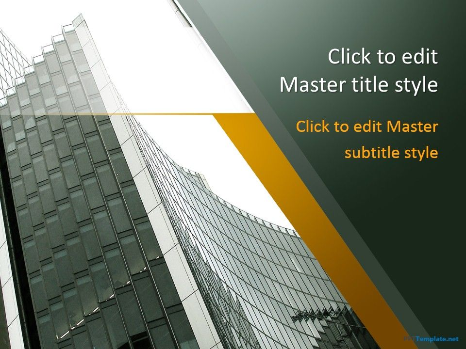 Free City Ppt Template Pinterest Ppt Template
