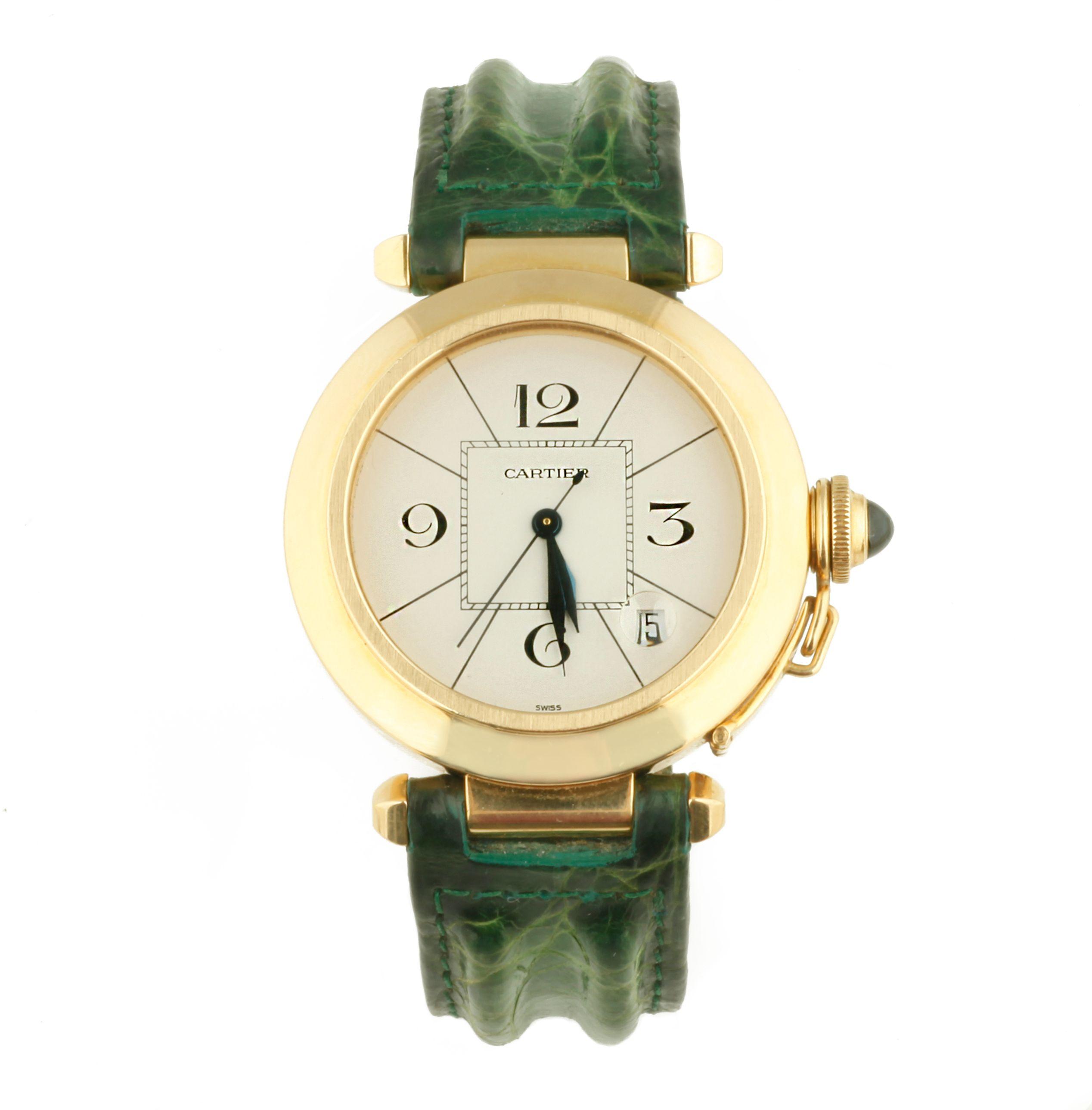 18b06346f572 Cartier, Pasha , Ref.:820901 Reloj de pulsera Movimiento: Automático ...