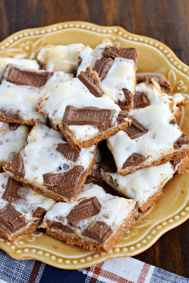 S'mores Cracker Toffee is sweet, crunchy, and gloriously gooey all at the same time. Magnificent!