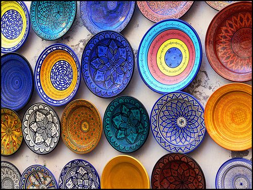 Moroccan Plate Wall Plates On Wall Ceramics Moroccan Plates