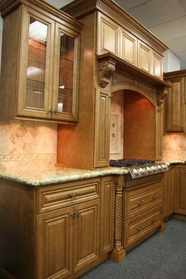 Glazed Toffee #Kitchen Cabinets & Glazed Toffee #Kitchen Cabinets   Beautiful Kitchens   Pinterest ... kurilladesign.com