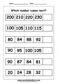 number patterns number series 1 worksheet matem tica pinterest number patterns free. Black Bedroom Furniture Sets. Home Design Ideas