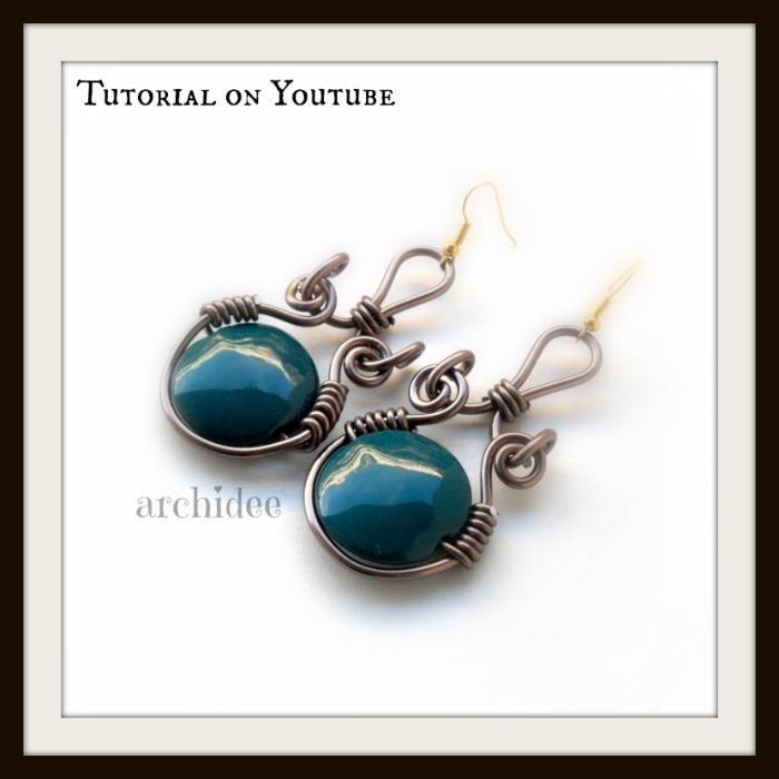http://youtu.be/onmjRpR7YSk wire wrapped earrings tutorial ...