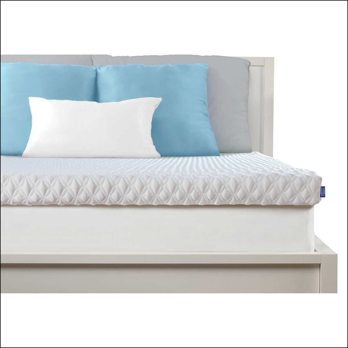 hybrid top and pillow memory topper mattress pads review sleep fiber innovations foam