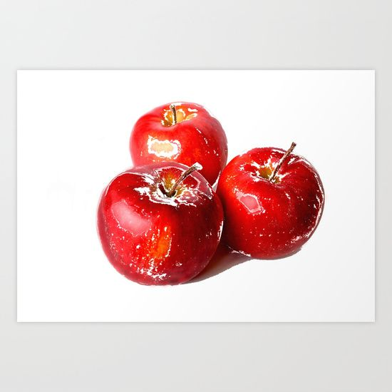Kathleen Robbins https://society6.com/product/apples-069_print?curator=regansworld