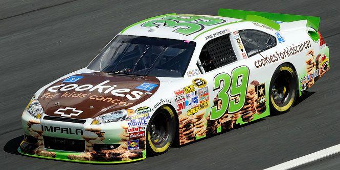 Ryan Newman Cookies Car
