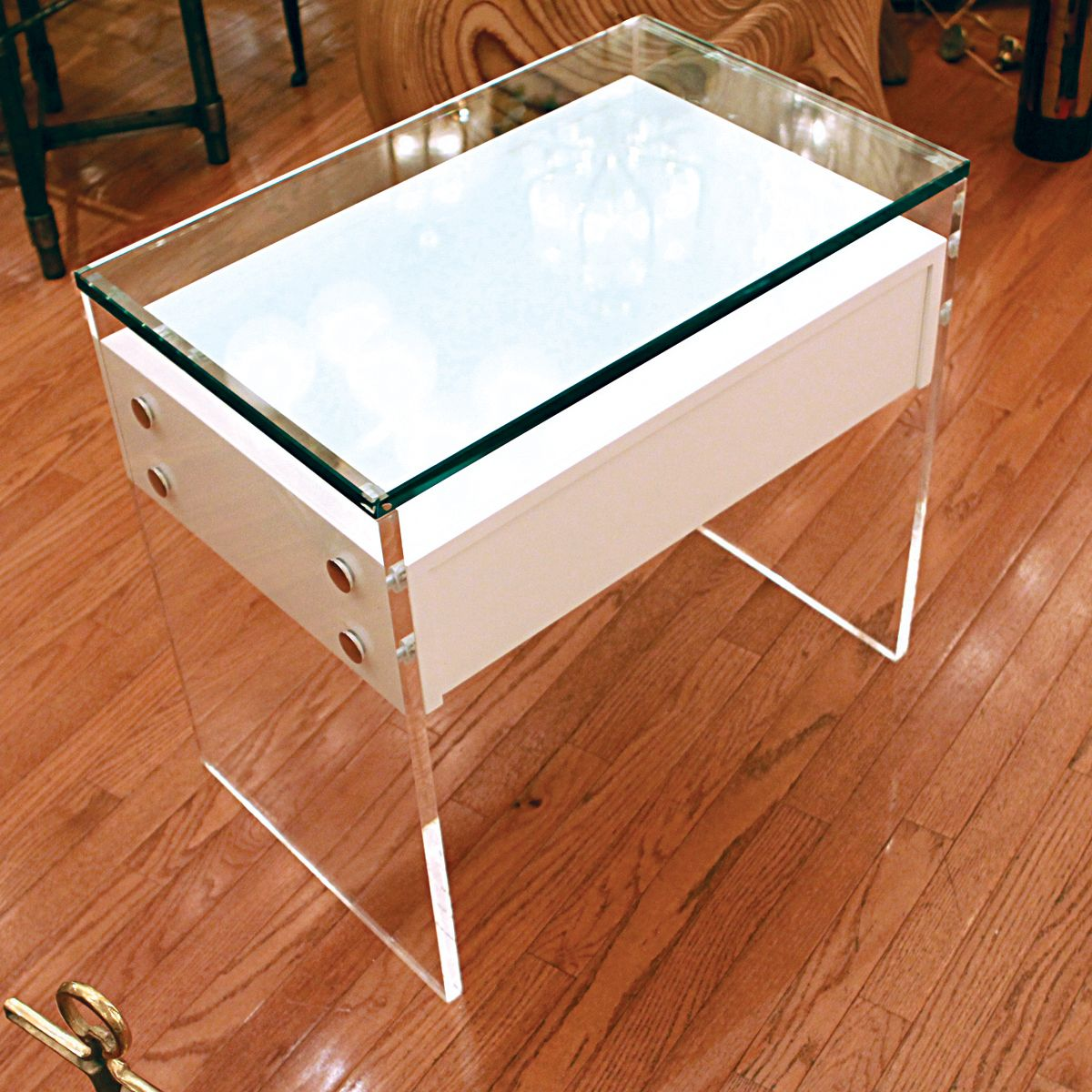 Pair Of White Lacquered End Tables | Side U0026 End Tables | John Salibello