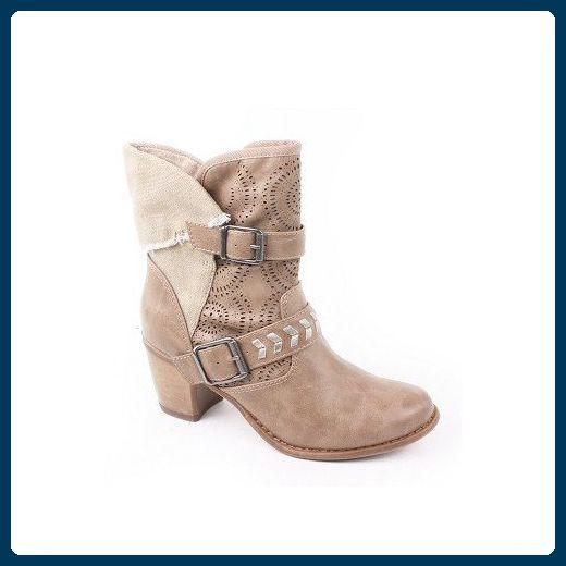 newest 01818 6b070 Tamaris 1-25316-24 Schuhe Damen Sommer Stiefeletten ...