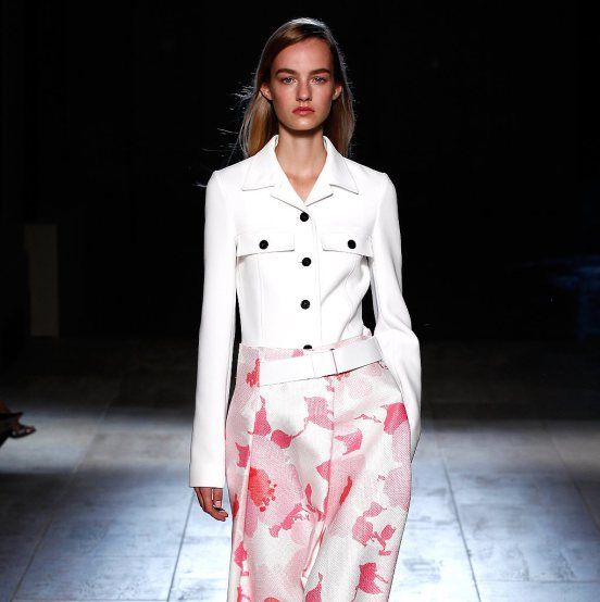 #NYFW Victoria Beckham Spring 2015 - Show - New-York Fashion Week