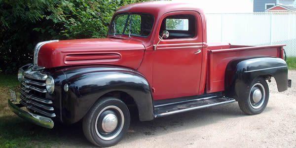 Auto For Sale Canada: 1947 Mercury Pickup Truck For Sale - Alberta Canada