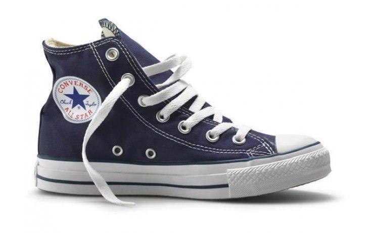 Botas Converse All-Star Chuck Taylor Navy, las converse altas de bota en  lona de color azul marino, ideales para verano e invierno, nunca pasaran de  moda