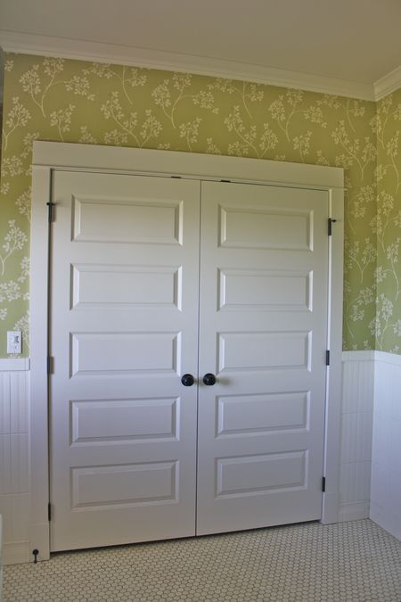 Farmhouse Closet Doors Like These So Much Better Than The