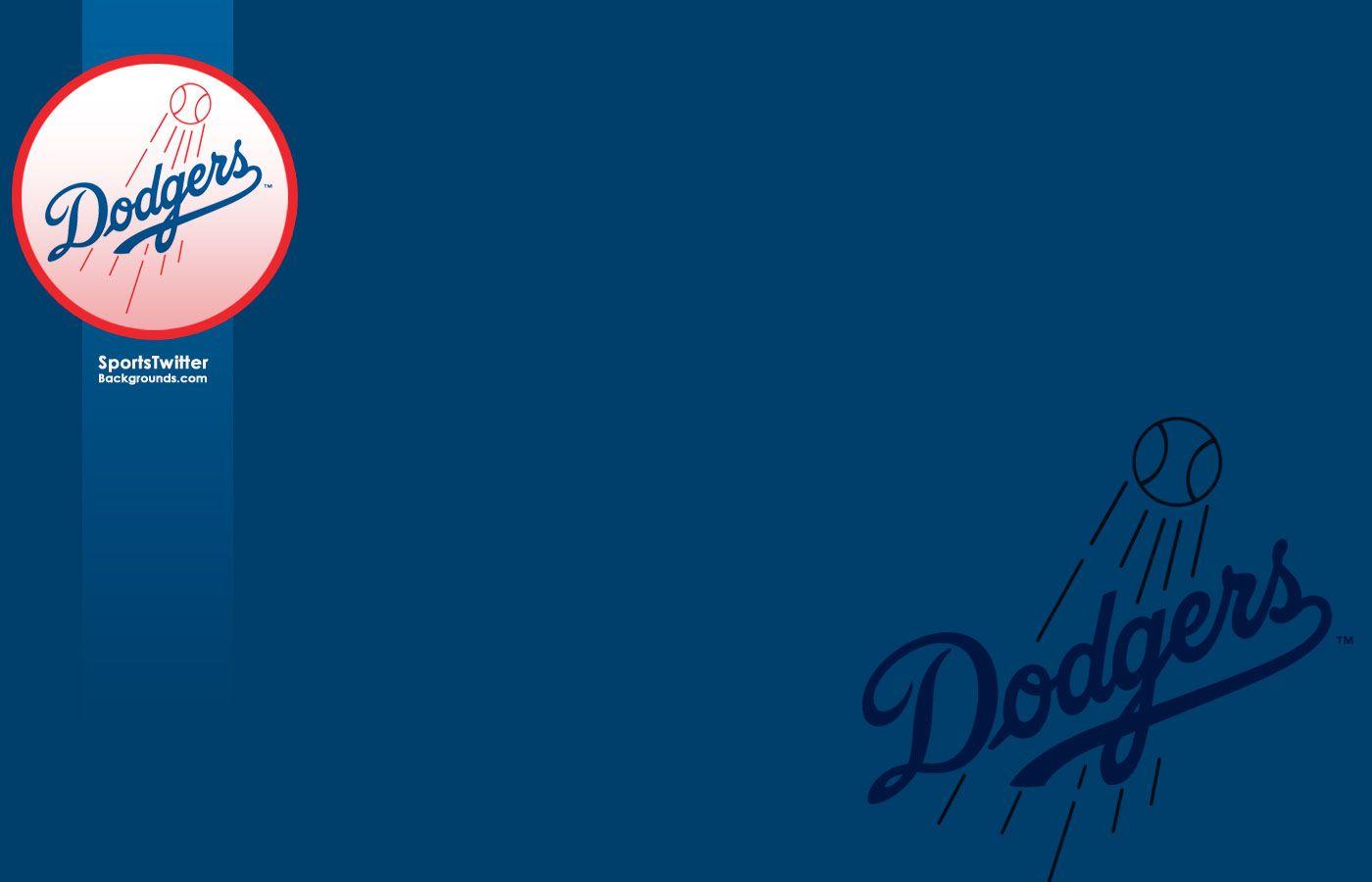 Los Angeles Dodgers Logo Wallpaper
