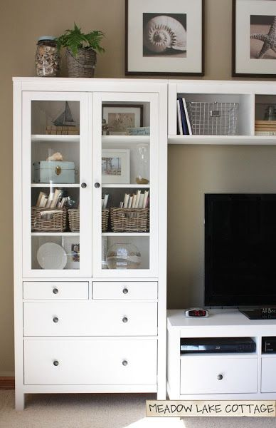 Serie ikea hemnes en tu sal n decoracion pinterest - Mueble tv hemnes ...