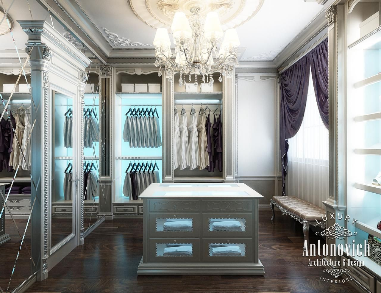 Closet villa interior design in dubai arabian ranches 2 for Villa interior design dubai