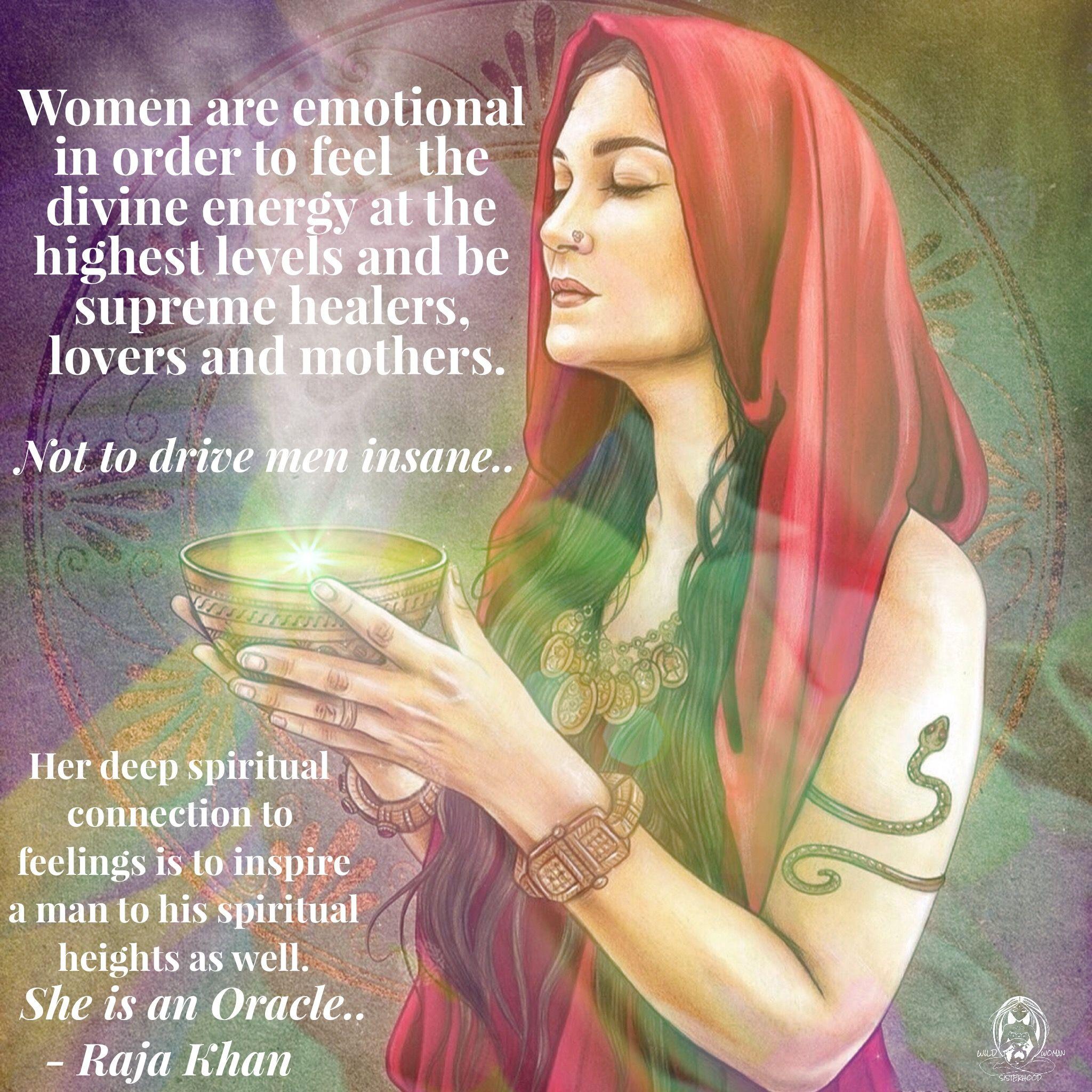 Les femmes sont émotives pour se sentir à l'énergie divine-6806