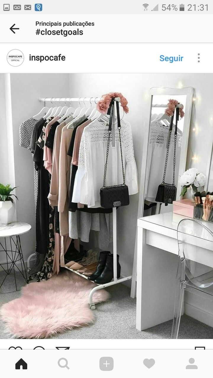 This Closet Is So My Dream Closet Ikea Clothing Storage, Ikea Clothes Rack,  Clothes