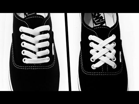 eeabc16c3cb4b7 How to Criss Cross lace shoes