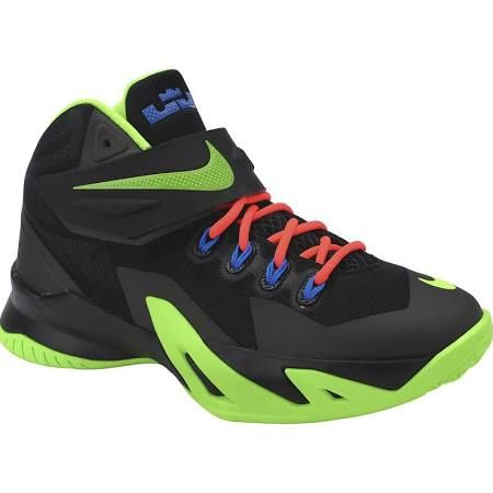 brand new 2e26a 1a64b Nike Boys  Zoom LeBron Soldier VIII Mid Basketball Shoes - Grade School
