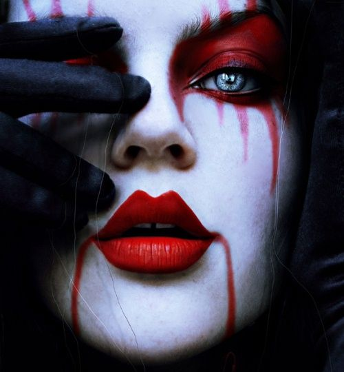 the puppet master eye makeup by cristina otero - Scary Halloween Eye Makeup