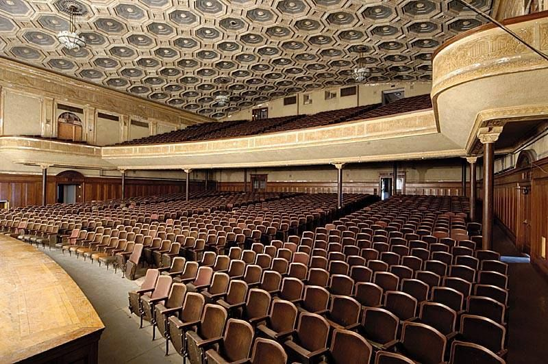 Lincoln Auditorium In Central High School