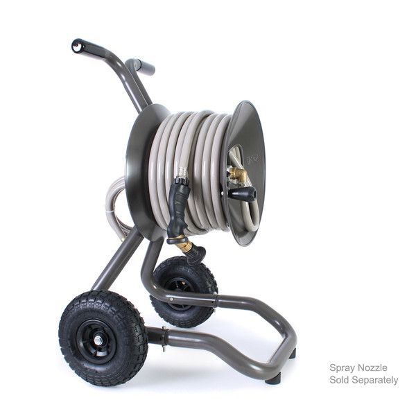 Shop The Highest Rated Portable Garden Hose Cart Reels Available. Tough,  Rust Proof Aluminum Build With Flat Free Tires.