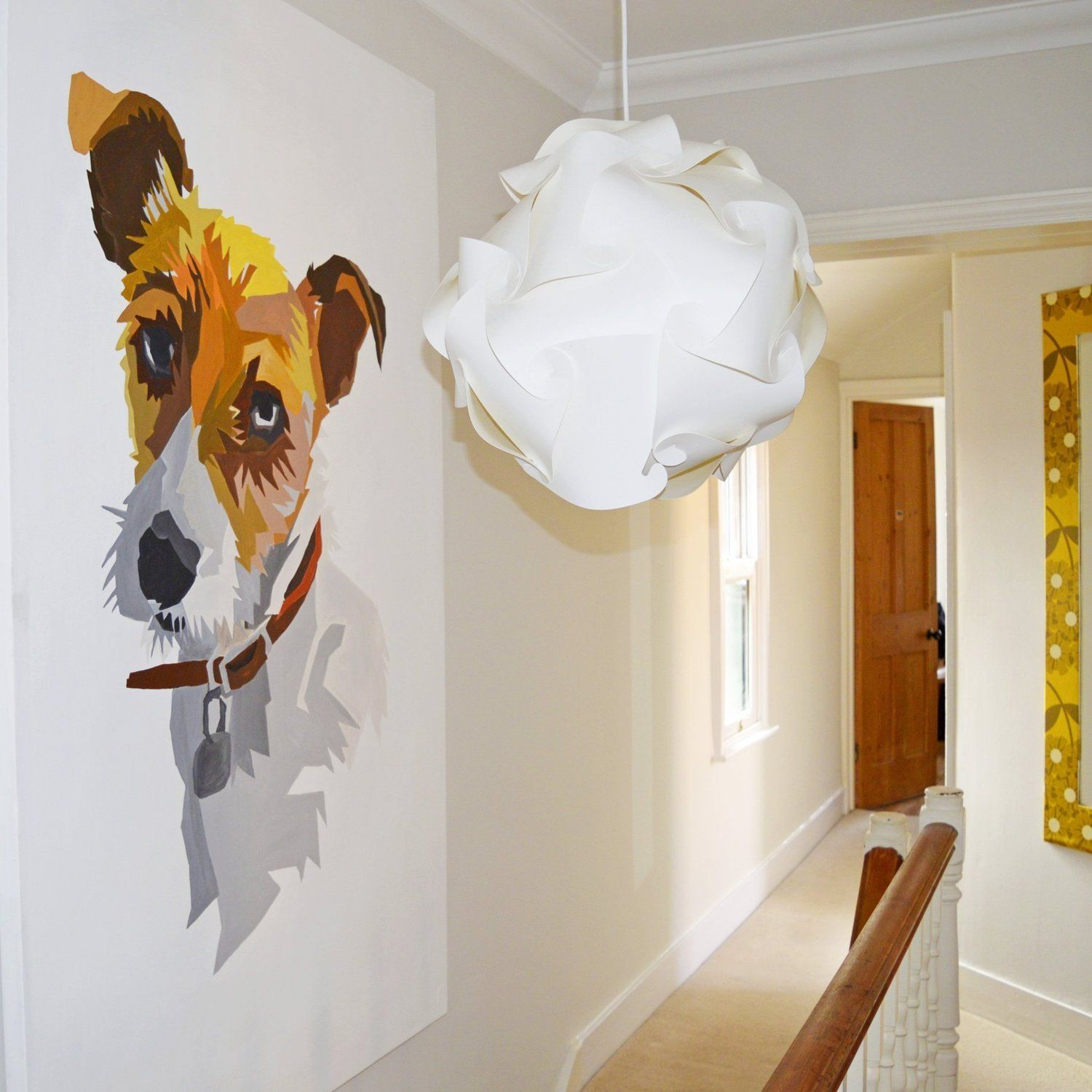 How to paint an apartment - How To Paint The Giant Wall Portrait Your Pet Deserves Apartment Therapy Reader Submission Tutorials