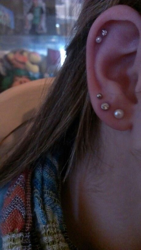 Double Cartilage And Triple Lobes I Absolutely Adore Them Got The