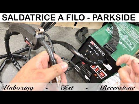 Recensione Saldatrice A Filo Parkside Pfds 33 B3 Lidl Test