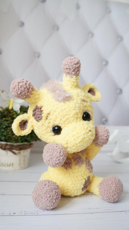 Giraffe Crochet Amigurumi Pattern. how to crochet