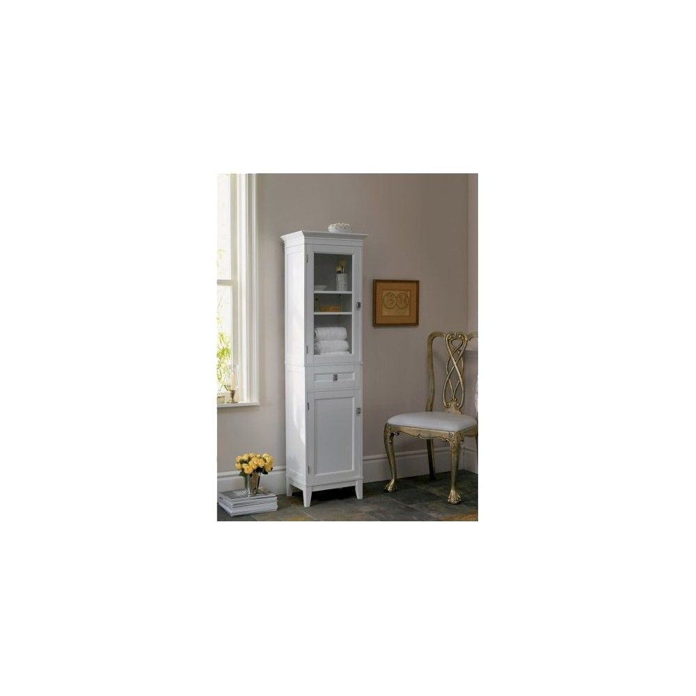 Linen Cabinet - White - Fieldcrest | Linen cabinet and Products