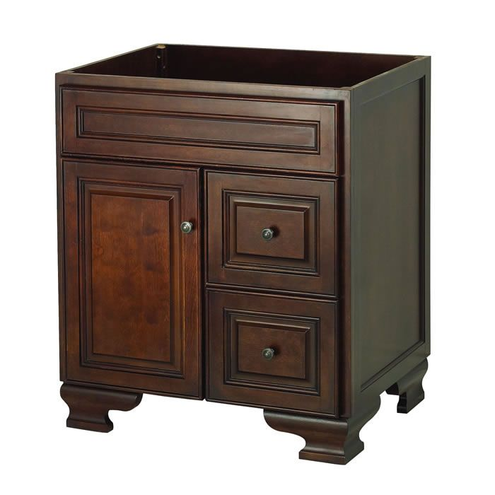 Picture Gallery For Website Shop for the Foremost Dark Walnut Hawthorne Fiberboard Vanity Cabinet Only and save Inch Bathroom