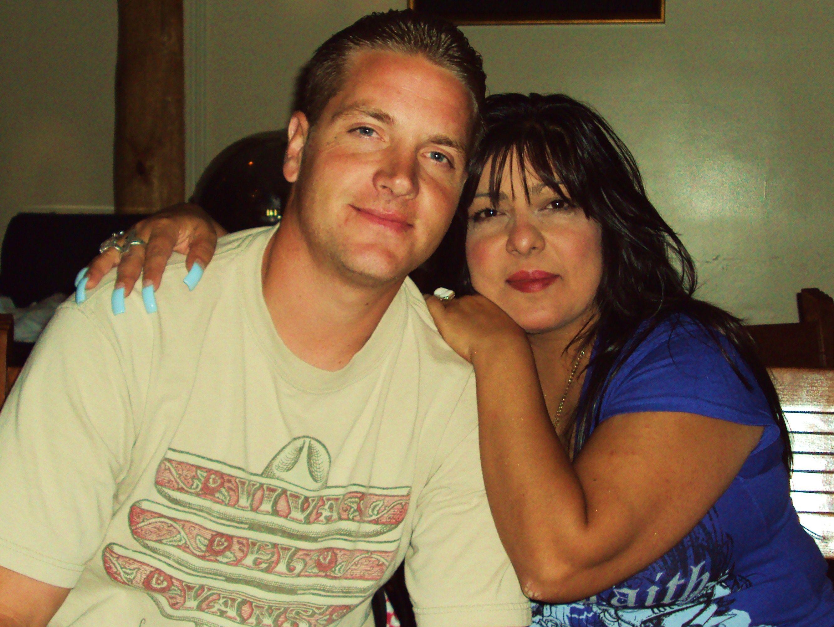 Myself and my husband of 14 years, Adam <3