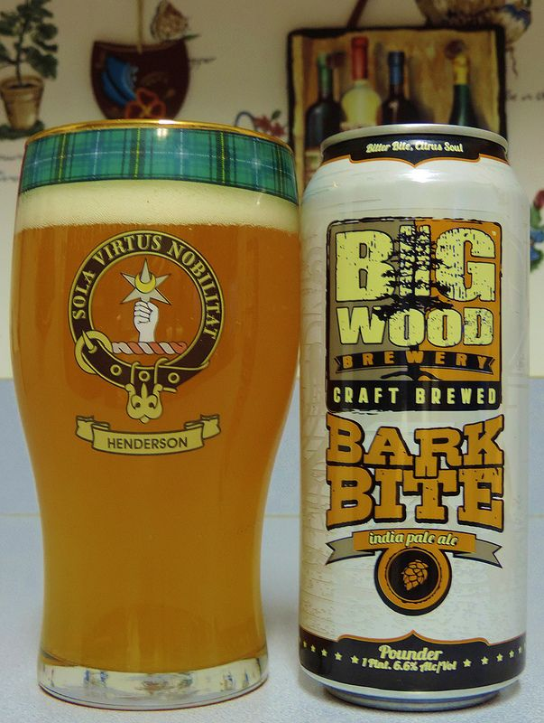 Big Wood Brewing Bark Bite India Pale Ale
