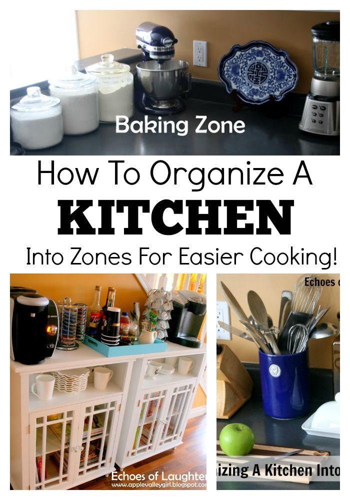 how to organize a kitchen into zones for easier cooking kitchen organization kitchen remodel on organizing kitchen cabinets zones id=17137