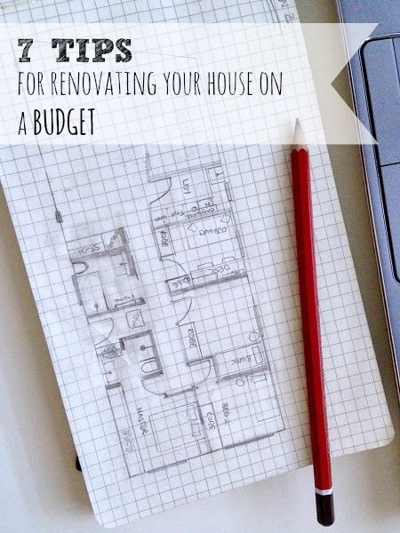 7 tips for renovating your house on a budget Budgeting, Corner and - house renovation budget spreadsheet