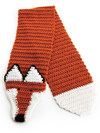 Fox Hat & Scarf | CROCHET/KNIT ANIMAL HATS | Pinterest | Ganchillo ...