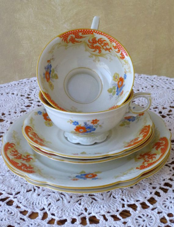 Fine Quality Porcelain by Seltmann Weiden by weMixandMatchVintage, $48.00