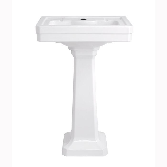 American Standard Fitzgerald 24 Pedestal Lavatory Pedestal Sink
