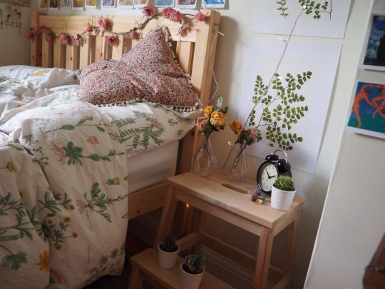 And No I Dont Iron Strandkrypa Ikea Botanical Bed Linen Bedding From