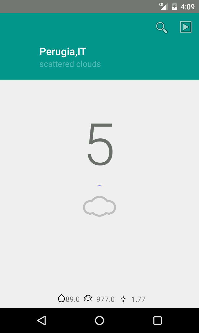 Material Android weather app How to develop an Android