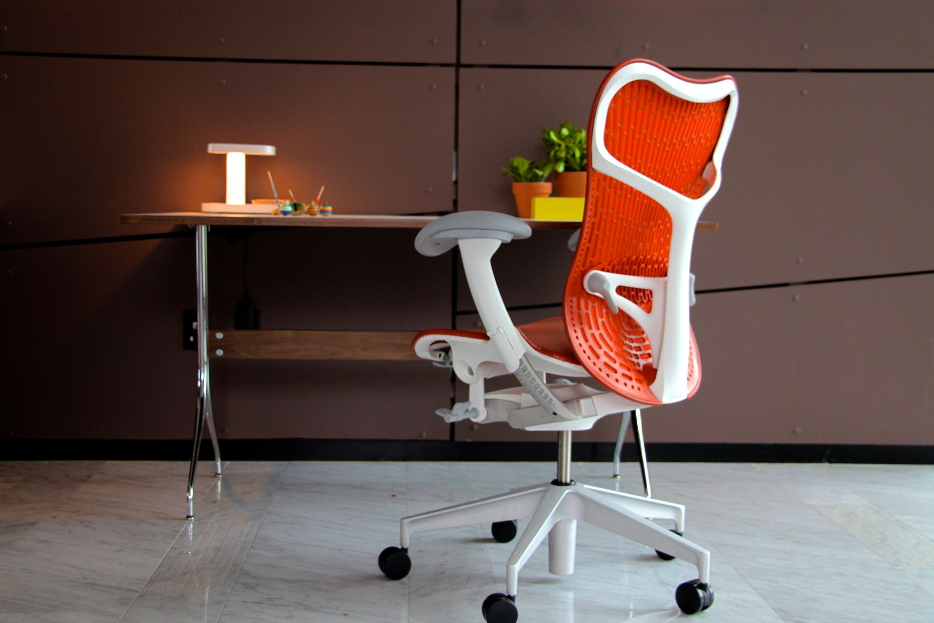 Herman Miller s Mirra 2 Recently showcased at The Standard Hotel