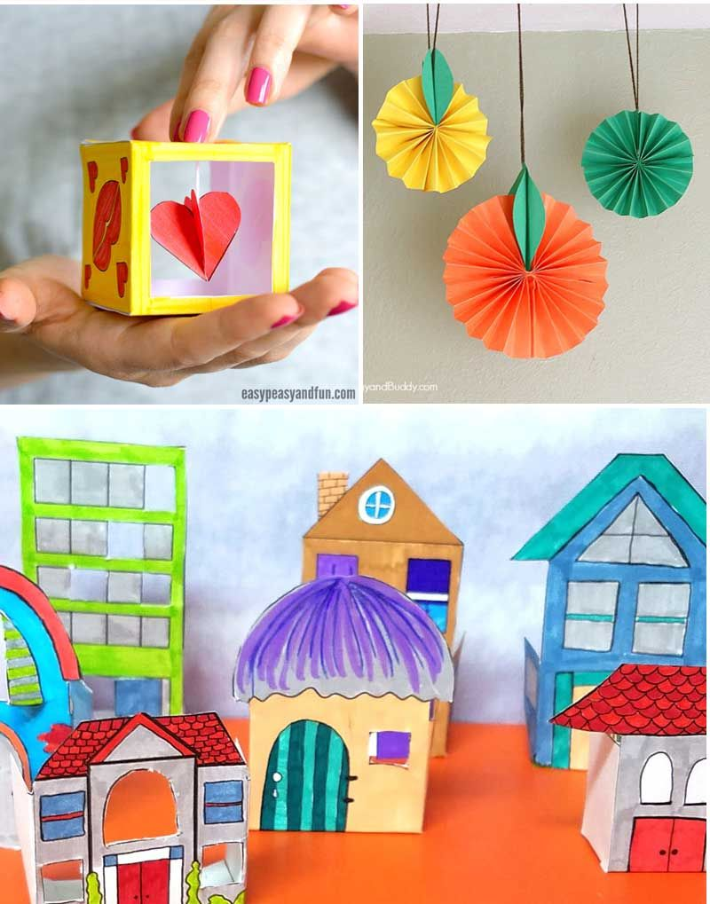 super fun paper crafts for tweens | papercraft, boy craft and
