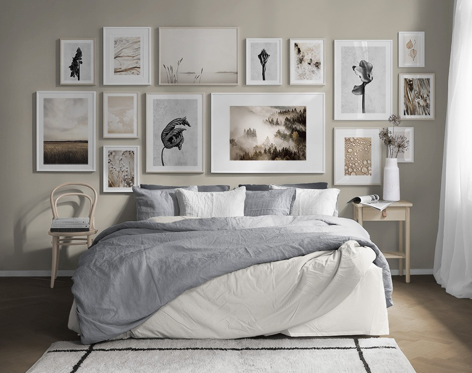 Billedvaeg I Sovevaerelse Indretning Og Plakater Til Sovevaerelset Sovevaerelsesindretning Ideer Boligindretning Boligindretning