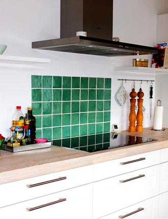 fliser væg køkken