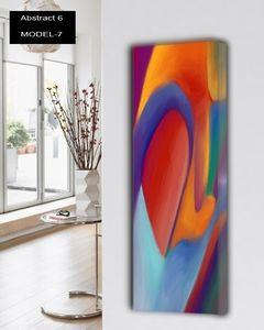 abstract 6 design heizk rper abstracte wohnzimmer. Black Bedroom Furniture Sets. Home Design Ideas