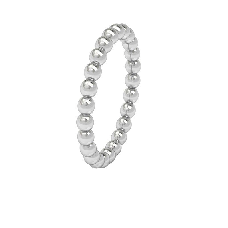 Fat Pearl Ring Sterling silver #pearl #ring #minimal #silver #stacking #stackingring