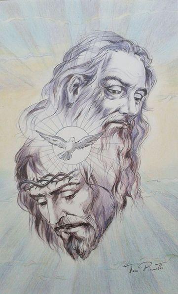 Autore: Teo Pinnetti Disegno a matita - Trinità