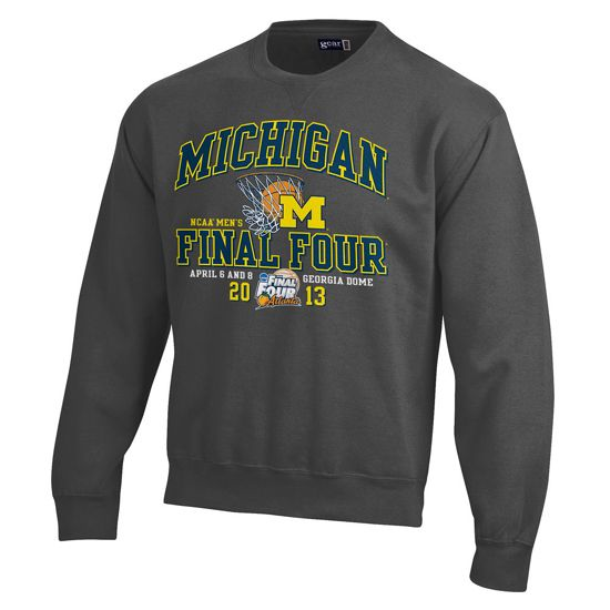 University of Michigan Basketball Sweatshirt
