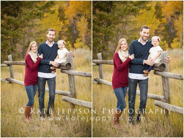 LOVE their family pictures! #familyphotos  Utah family photography | family photography | fall family photos | family of 3 | family posing ideas  | Kate Jeppson Photography  www.katejeppson.com www.katesphotoblog.com